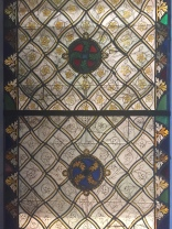 Stained Glass Early Gothic Hall